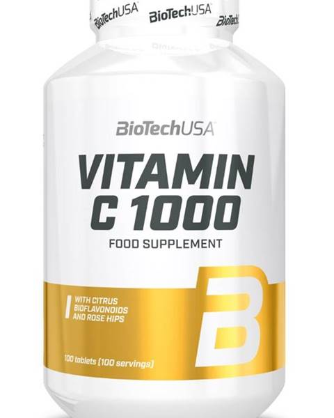 Biotech USA Biotech Vitamín C 1000 100 tabliet