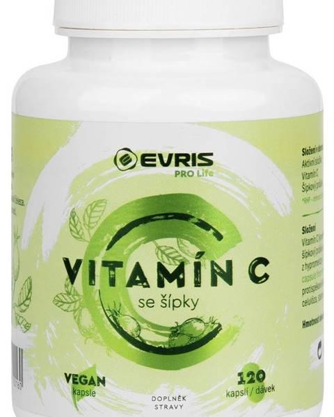 Evris Evris Vitamín C so šípkami 120 kapsúl