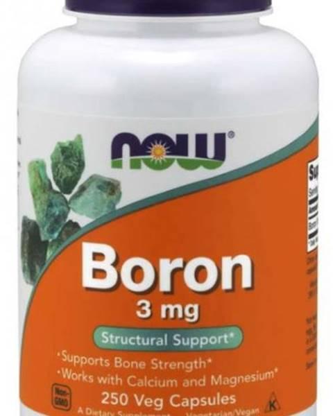 NOW NOW Boron (bór) 3 mg 250 kapsúl