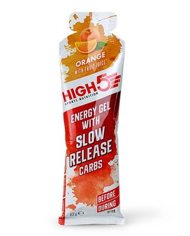 High5 Energy Gel Slow Release 62 g variant: čierne ríbezle