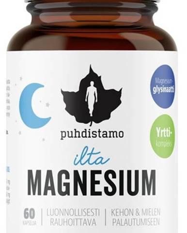 Puhdistamo Night Magnesium (Horčík) 60 kapsúl