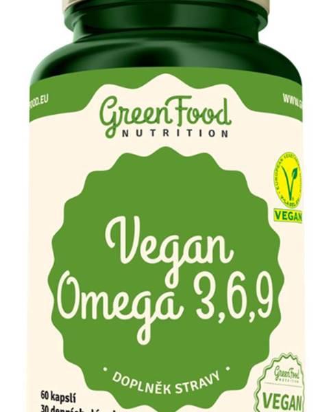 GreenFood GreenFood Vegan Omega 3,6,9 60 kapsúl