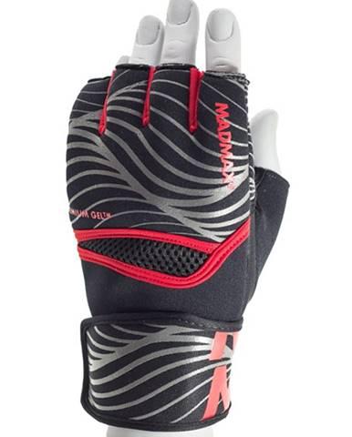 MadMax MaxGel Fighting Gloves MBF906 červené variant: L/XL