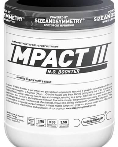 Sizeandsymmetry Impact III N.O. 400 g VÝPREDAJ! variant: hruška