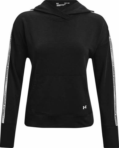 Dámska mikina Under Armour Rival Terry Taped Hoodie Black - XS