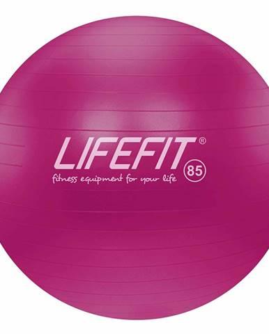 Gymnastický míč LIFEFIT ANTI-BURST 85 cm, bordó