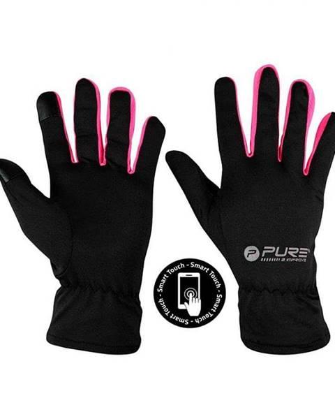 Pure2Improve Běžecké rukavice Purre2Improve S/M růžová