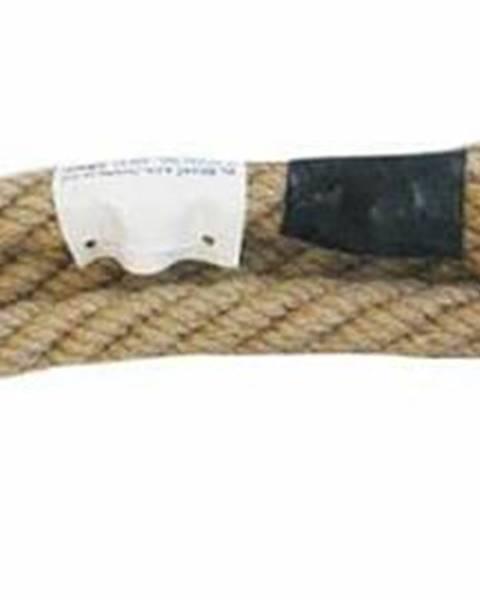 KV Řezáč Lano na šplh 5 m KV Řezáč ze 100% juty průměr 35 mm - Béžová