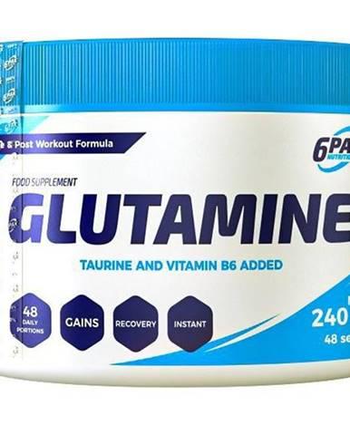 Glutamine - 6PAK Nutrition 240 g Natural