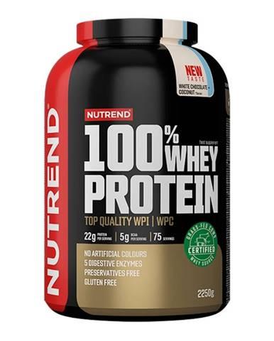 Nutrend 100% Whey Protein 2250 g čokoláda kokos
