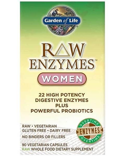 Garden of life RAW Enzymy Women Digestive Health - pro ženy - zdravé trávení