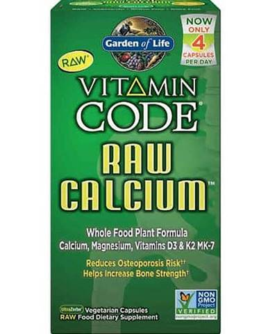 Garden of Life Vápník - RAW Vitamin Code - 60 kapslí