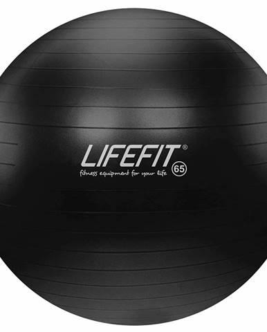 Gymnastický míč LIFEFIT ANTI-BURST 65 cm, černý