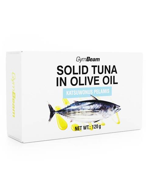 GymBeam GymBeam Tuniak v olivovom oleji 120 g