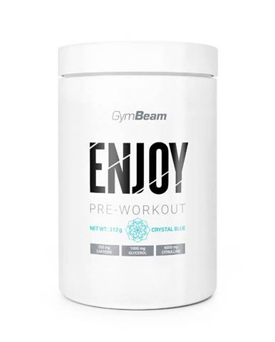 GymBeam ENJOY Pre-Workout 312 g crystal blue