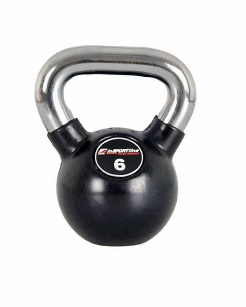 Insportline Pogumovaná činka inSPORTline Ketlebel Profi 6 kg