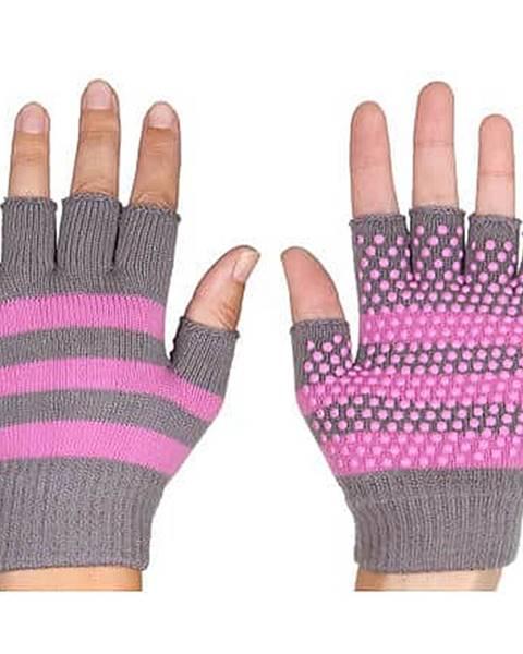 Merco Grippy G1 rukavice na jógu, bezprsté růžová