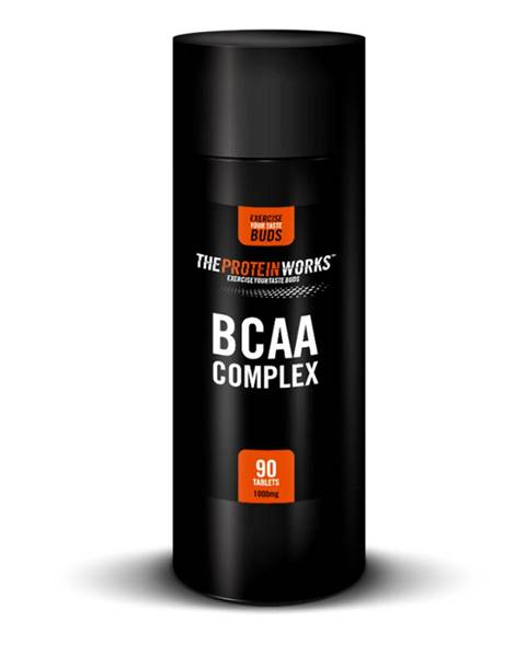 The Protein Works TPW BCAA Complex 90 tab.