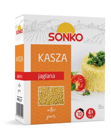 SONKO Proso krúpy 4 x 100 g