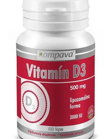 Vitamin D3 - Kompava 60 kaps.