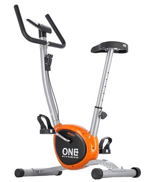 ONE FITNESS Mechanický rotoped ONE Fitness RW3011 stříbrno-oranžový