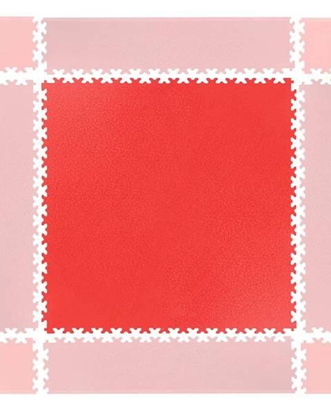 Insportline Puzzle záťažová podložka inSPORTline Simple červená