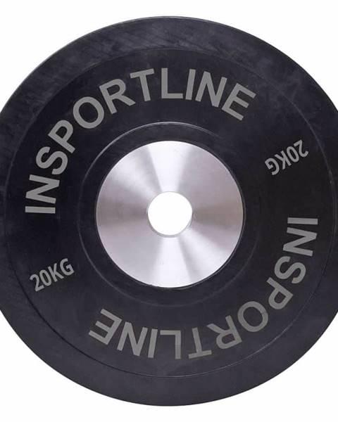 Insportline inSPORTline Gumový kotouč inSPORTline Bumper Plate 20 kg