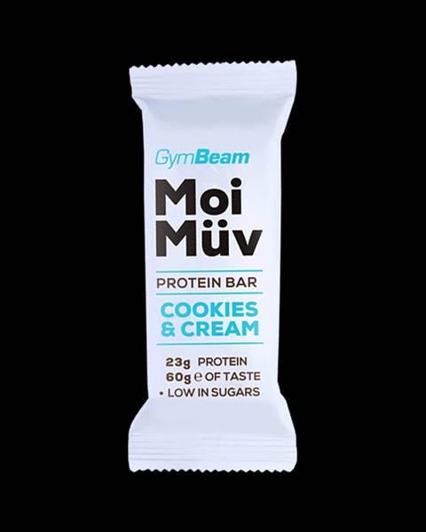 GymBeam Gymbeam Proteínová tyčinka MoiMüv 60 g cookies & krém
