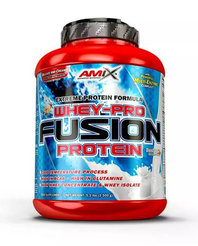 AMIX Whey Pure Fusion 2300 g banán
