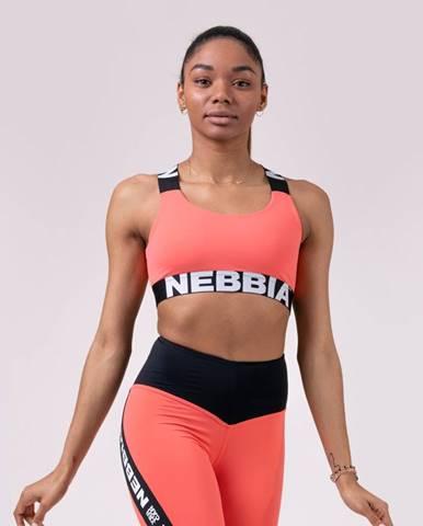 NEBBIA Športová podprsenka Power Your Hero Peach  M