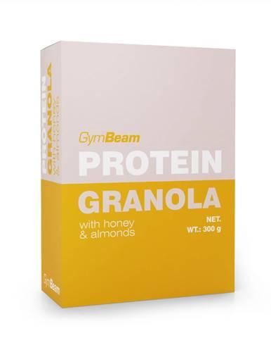 GymBeam Proteínová granola s medom a mandľami 300 g
