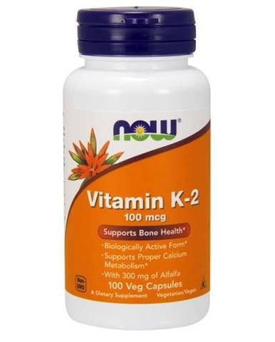 NOW Foods Vitamín K-2 100 mcg 100 kaps.