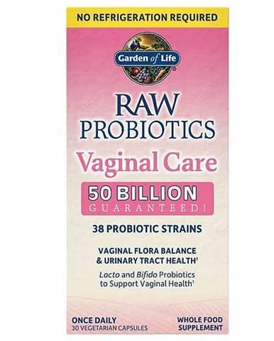 RAW Probiotika - vaginální péče - 50 miliard CFU