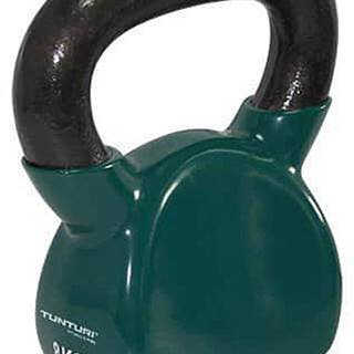 Kettlebell litinový ve vinylu TUNTURI 8 kg zelený