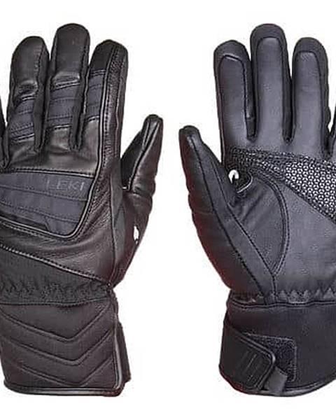 Leki Griffin S Lady lyžařské rukavice černá Velikost oblečení: č. 6