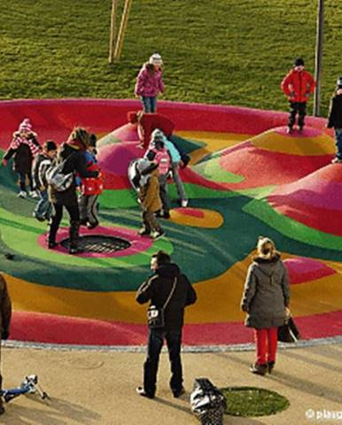 Eurotramp Trampolína EUROTRAMP Kids Tramp Playground Loop - průměr 150 cm