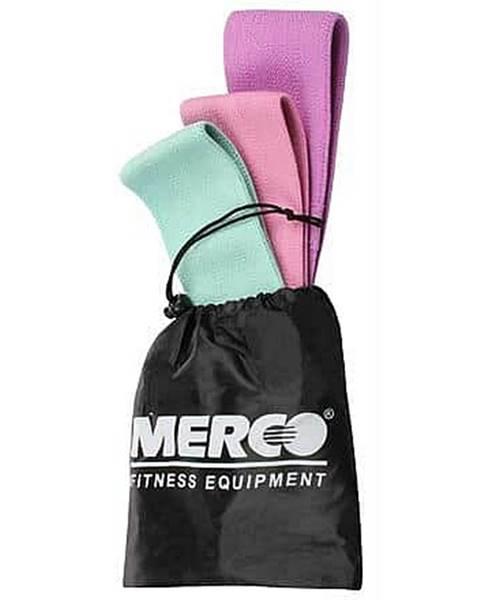 Merco Yoga Hip Band Set odporové pásy Balení: 1 balení