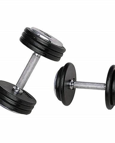 Jednoručná činka inSPORTline ProfiST 22,5 kg