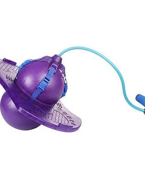 Merco Handle Jump Ball skákací míč s rukojetí fialová