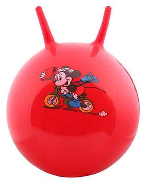 Merco Hom Jump skákací gymnastický míč červená Průměr: 45 cm