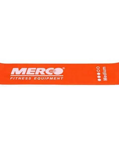 Merco Mini Band posilovací guma oranžová