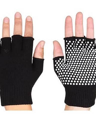 Grippy G1 rukavice na jógu, bezprsté černá