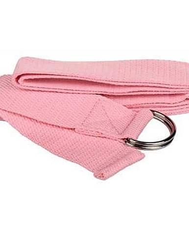 Yoga Strap pás na jógu růžová