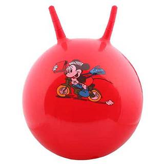 Hom Jump skákací gymnastický míč červená Průměr: 45 cm