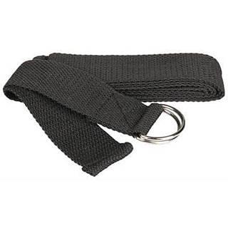 Yoga Strap pás na jógu černá