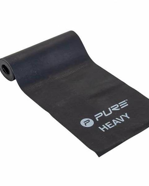 Pure2Improve Odporová fitness aerobic guma P2I heavy - Černá