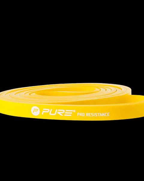Pure2Improve Odporová fitness aerobic guma P2I light - Žlutá