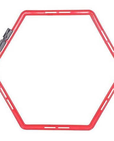 Agility Hex proskakovací šestiúhelník červená