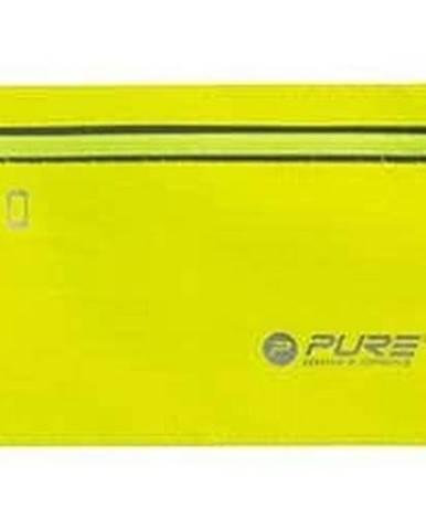 Běžecký reflexní opasek na telefon - Žlutá