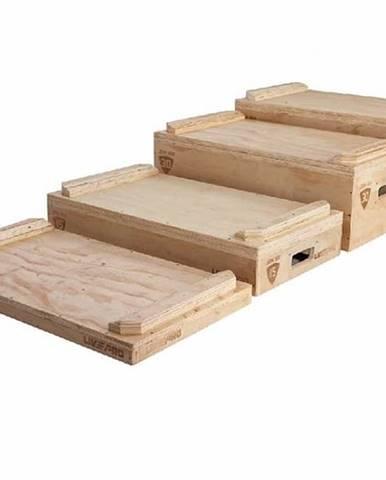 Dřevěné PLYO-bloky na cvičení LivePro LP8816